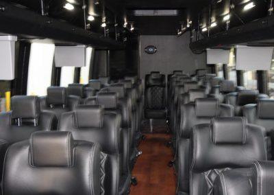 Business-Class Charter Bus