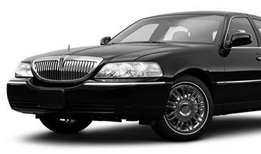Black Lincoln Town Car Limo