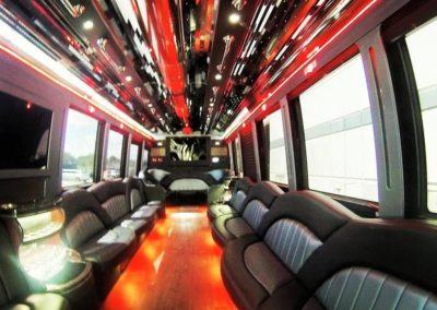 36 Passenger Limo Bus